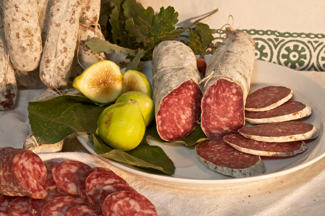 Salame with or without lard